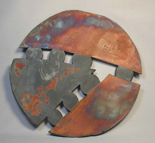 Shard200604c.jpg (34555 bytes) & Raku Wall Art - Ceramic Raku Gallery - Gary R. Ferguson